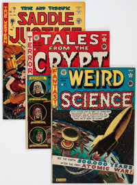 EC Comics Group (EC, 1950s) Condition: Average GD.... (Total: 7 Comic Books)
