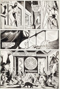 Original Comic Art:Panel Pages, Ramona Fradon and Jim Mooney (attributed) The Cat #5Unpublished Page 3-4 Original Art Group (Marvel, 1973).... (Total:2 Original Art)
