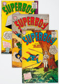Golden Age (1938-1955):Superhero, Superboy Group (DC, 1955-57) Condition: Average VG-.... (Total: 10 Comic Books)