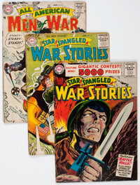DC Silver Age War Comics Group (DC, 1956-61) Condition: Average GD.... (Total: 8 Comic Books)