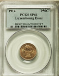 Luxembourg, Luxembourg: Marie Adelaide Specimen Essai 50 Centimes in silver1914 SP66 PCGS,...