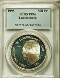 Luxembourg, Luxembourg: Jean Proof 500 Francs 1998 PR66 PCGS,...