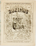 Books:Periodicals, [Periodical]. Thirteen Issues of Zozimus. Dublin SteamPrinting Company, 1870....