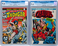 Creatures on the Loose #16 and 27 CGC-Graded Group (Marvel, 1972-74) Condition: CGC NM+ 9.6.... (Total: 2 Comic Books)