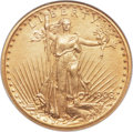 Proof Saint-Gaudens Double Eagles, 1908 $20 Motto PR65 NGC. Roman Finish Proof....
