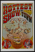 """Movie Posters:Adult, The Hottest Show in Town (Mammoth Films, 1974). One Sheet (27"""" X 41""""). Adult. ..."""