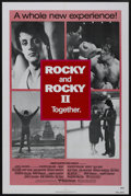 "Movie Posters:Sports, Rocky/Rocky II Combo (United Artists, 1980). One Sheet (27"" X 41""). Sports. ..."
