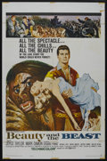 """Movie Posters:Fantasy, Beauty and the Beast (United Artists, 1962). One Sheet (27"""" X 41"""").Fantasy. ..."""