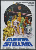 "Movie Posters:Science Fiction, Star Wars (20th Century Fox, 1977). Italian 2 - Folio (39"" X 55"").Science Fiction. ..."