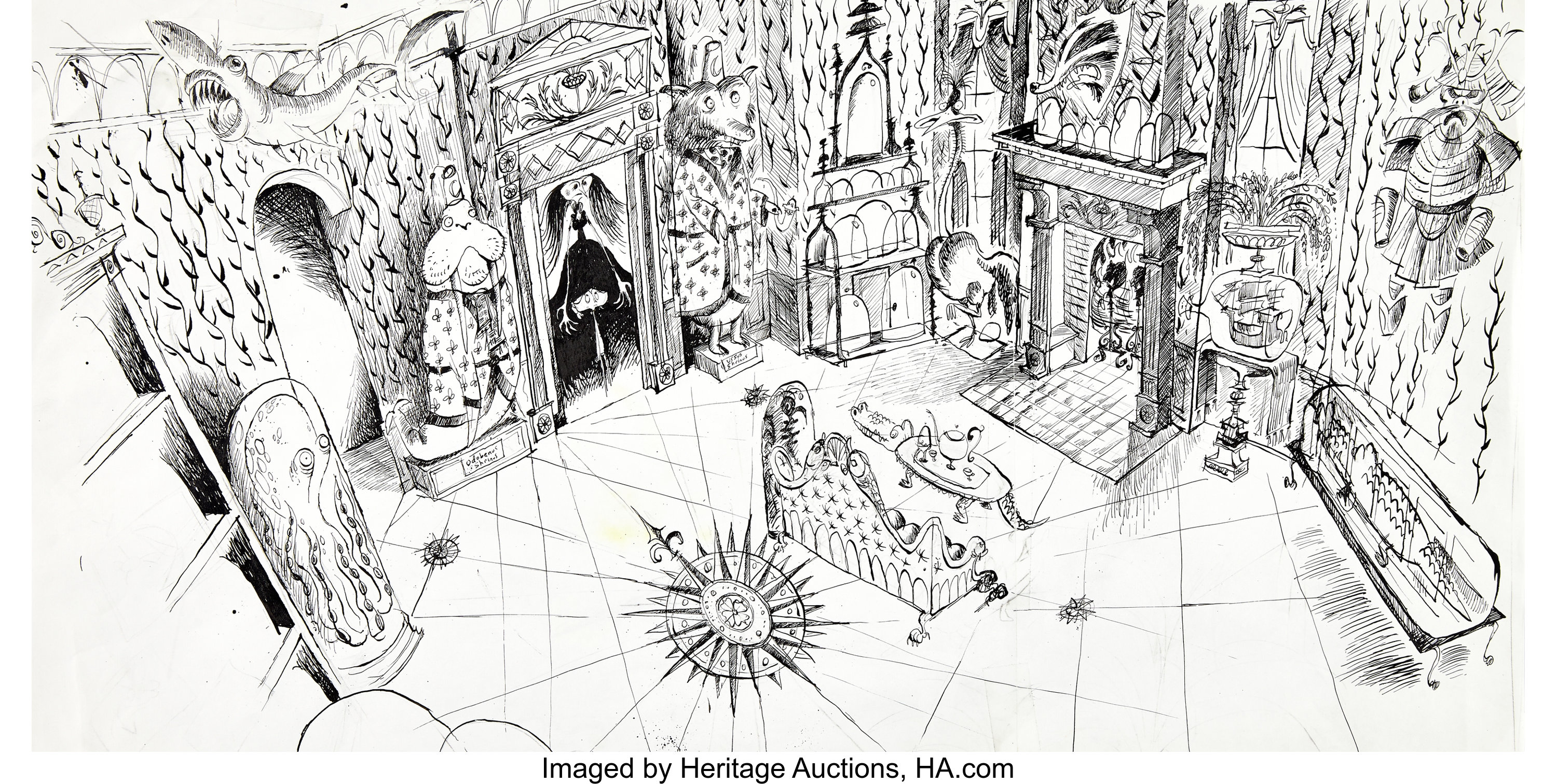 Coraline Coraline S Other Mother S Living Room Concept Original Lot 94025 Heritage Auctions