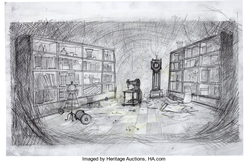 Coraline Drawing Room Drawing Art Ideas