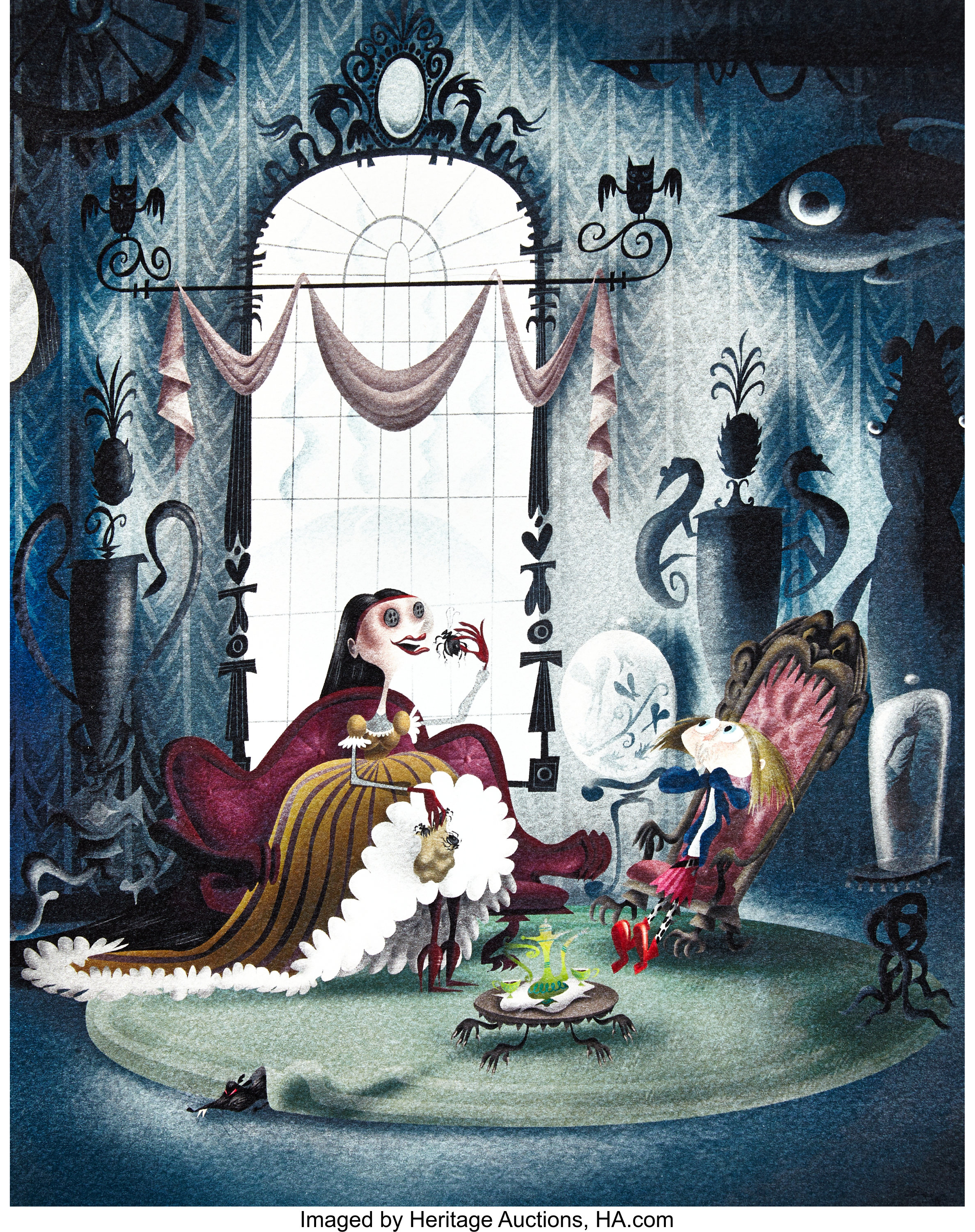 Coraline Other Mother Eating Spiders Lithograph Laika 2009 Lot 94030 Heritage Auctions