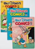Golden Age (1938-1955):Cartoon Character, Walt Disney's Comics and Stories Group (Dell, 1949-50) Condition:Average VG/FN.... (Total: 12 Comic Books)