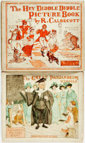 Books:Children's Books, Randolph Caldecott. Hey Diddle Diddle Picture Book [with:]The Great Panjandrum Himself. Various publish... (Total: 2Items)