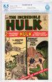 The Incredible Hulk #4 Trimmed (Marvel, 1962) CBCS Restored VF+ 8.5 Slight to Moderate Off-white to white pages