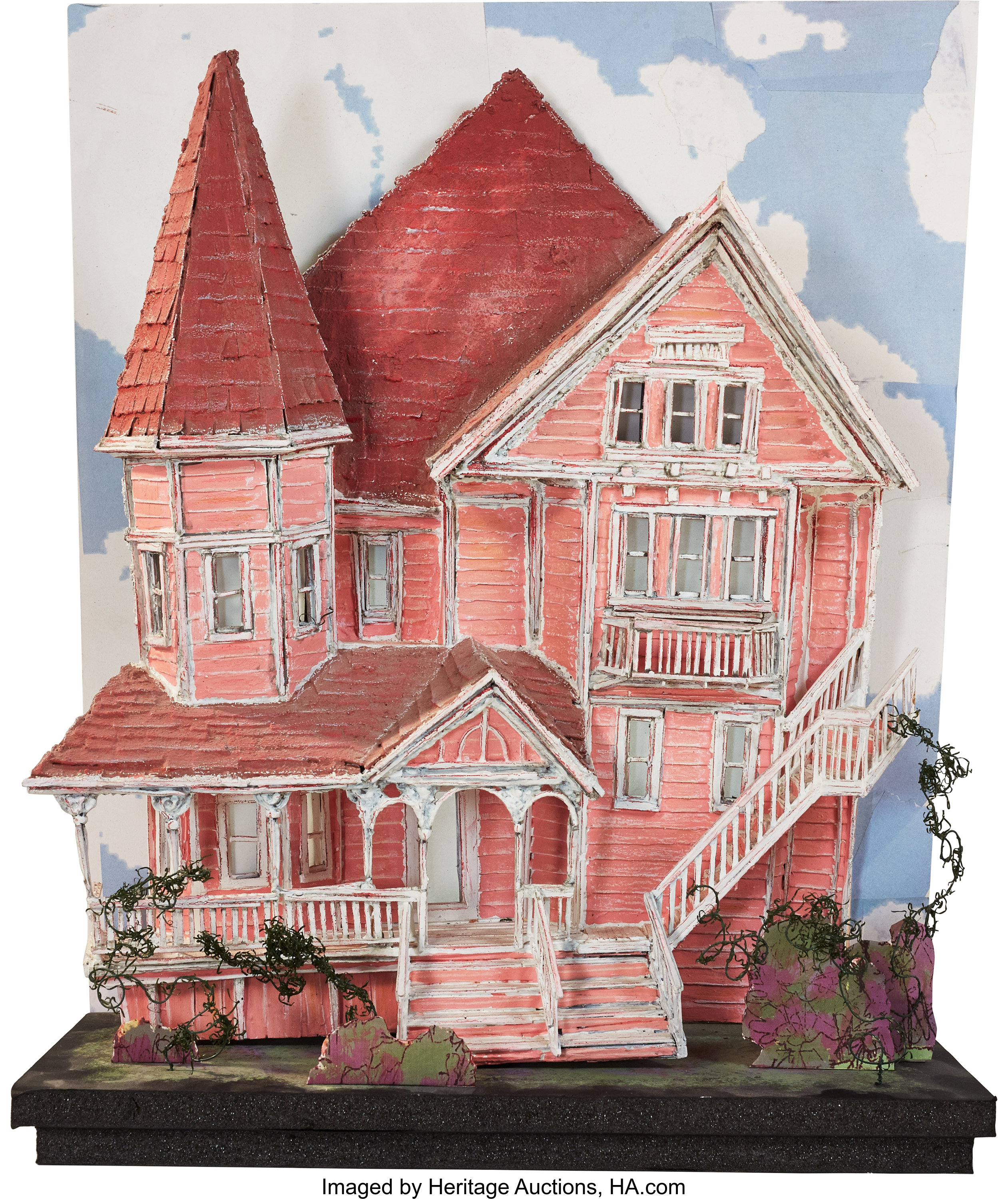 Coraline Other World Pink Palace Apartment Building Original Lot 94009 Heritage Auctions