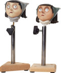 Animation Art:Maquette, Coraline Mel Jones' Head Original Animation Paint TestMaquette Group (LAIKA, 2009).... (Total: 2 Items)