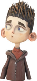 Animation Art:Maquette, ParaNorman Norman's Head Original Animation Paint Test Maquette (LAIKA, 2012)....