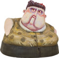 Animation Art:Maquette, ParaNorman Mrs. Henscher's Head Original Animation PaintTest Maquette (LAIKA, 2012)....