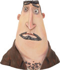 Animation Art:Maquette, ParaNorman Perry Babcock's Head Original Animation PaintTest Maquette (LAIKA, 2012)....