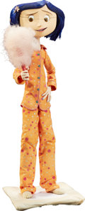 Animation Art:Puppet, Coraline in Orange Pajamas Original Animation Puppet (LAIKA, 2009).... (Total: 2 Items)