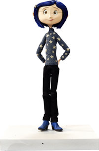 Coraline Blue Star Sweater Original Animation Puppet (LAIKA, 2009)