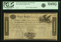 Fr. TN-10 $100 Act of February 24, 1815 Treasury Note Remainder PCGS Choice About New 55PPQ