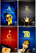 "Animation Art:Poster, Coraline Advance Promotional ""A to Z"" Poster Group (LAIKA,2009).... (Total: 26 Items)"