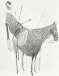 Animation Art:Production Drawing, ParaNorman Civil War Ghost Concept Sketch Original Artwork(LAIKA, 2012). ...
