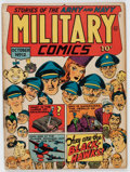 Golden Age (1938-1955):War, Military Comics #12 (Quality, 1942) Condition: VG....