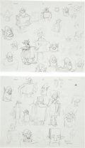 Animation Art:Production Drawing, The Boxtrolls Eggs and Boxtrolls Model Sheet Original ArtGroup (LAIKA, 2014).... (Total: 2 Items)