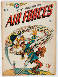 The American Air Forces #2 (Wm. H. Wise & Co., 1944) Condition: VG