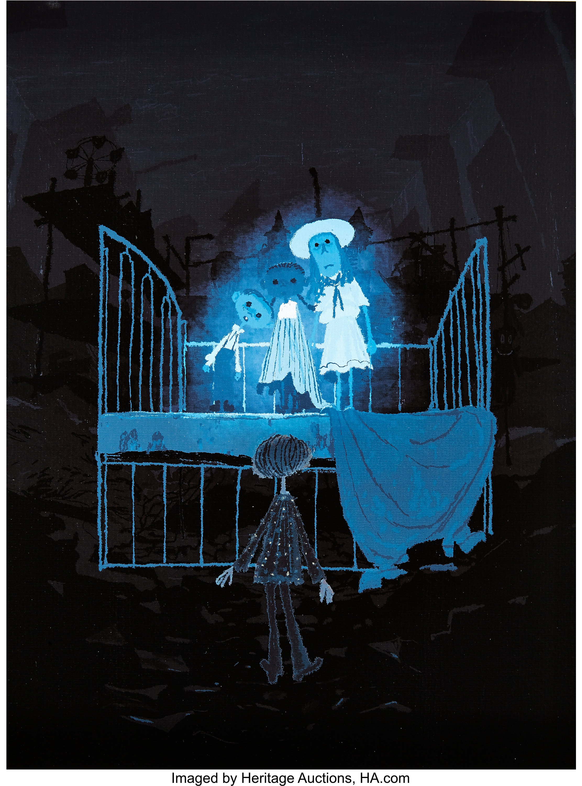 Coraline Coraline And The Ghost Children Studio Lithograph By Lot 94080 Heritage Auctions