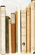 Books:Literature 1900-up, [Poetry]. [Robert Louis Stevenson, Algernon Swinburne, Alfred, LordTennyson, et al]. Group of Nine Books on Poetry. Variou... (Total:9 Items)