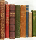Books:Literature Pre-1900, [Poetry]. Group of Eight Books of Poetry. [Thomas Campbell, RalphHodgson, Bret Harte, et al]. Various publishers and dates....(Total: 8 Items)