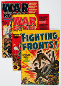 Golden Age (1938-1955):War, Harvey Golden to Silver Age War Related Comics Group (Harvey,1950s-60s) Condition: Average VF.... (Total: 40 Comic Books)