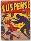 Golden Age (1938-1955):Horror, Suspense Comics #2 (Continental Magazines, 1944) Condition: GD....
