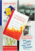 Books:Fiction, Charles Bukowski. Group of Five Books of Poetry by CharlesBukowski. Black Sparrow Press, [various dates]. ... (Total: 5Items)