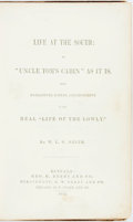 """Books:Literature Pre-1900, [Pro-Slavery]. W.L.G. Smith. Life at the South: or """"Uncle Tom'sCabin"""" as it is. Being Narratives, Scenes, and Incidents..."""