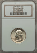Washington Quarters, 1936 25C Doubled Die Obverse, FS-101, MS65 NGC....