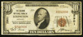 National Bank Notes:Kentucky, Lexington, KY - $10 1929 Ty. 1 The Second NB Ch. # 2901. ...