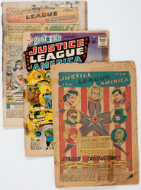 The Brave and the Bold/ Justice League of America Group (DC, 1960) Condition: PR.... (Total: 3 Comic Books)