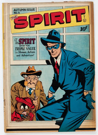 The Spirit #6 (Quality, 1946) Condition: FN