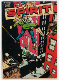 The Spirit #14 (Quality, 1948) Condition: FN