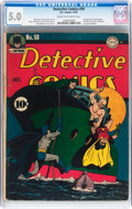 Golden Age (1938-1955):Superhero, Detective Comics #58 (DC, 1941) CGC VG/FN 5.0 Cream to off-white pages....