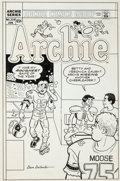 Original Comic Art:Covers, Dan DeCarlo Archie #339 Cover Original Art (Archie,1986)....