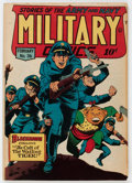 Golden Age (1938-1955):War, Military Comics #36 (Quality, 1945) Condition: VG/FN....