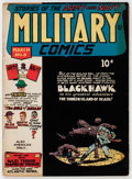 Golden Age (1938-1955):War, Military Comics #8 (Quality, 1942) Condition: FN....