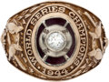 Baseball Collectibles:Others, 1944 St. Louis Cardinals Ring Presented to Bob Keely....