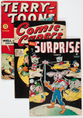 Golden Age (1938-1955):Miscellaneous, Timely Golden Age Funny Animal Comics Group (Timely, 1940s-50s).... (Total: 4 Comic Books)